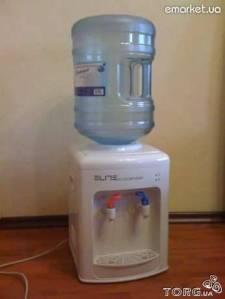 Настольный кулер для воды Elite: частичная разборка, профилактика