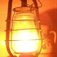 """Ремонт керосиновой лампы """"Летучая мышь"""""""