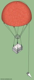 Снижение на парашюте