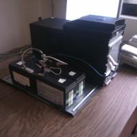 """APC Smart-UPS 1500: замена двух больших """"родных"""" батарей на четыре маленьких"""